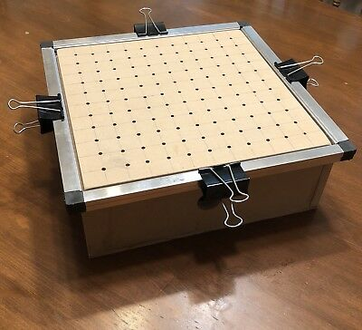 """12"""" X 12"""" Vacuum Forming Former Thermoform Plastic Forming Box Machine Table"""