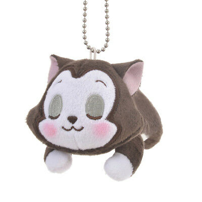 Disney Napping Figaro Small Plush Keychain  from Disney Store  Japan