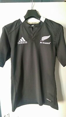 New Zealand All Blacks Rugby Shirt - Size S