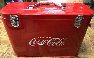 Rare Vintage 1940's Coca Cola Soda Pop Airline Cooler-- Professionally Restored!