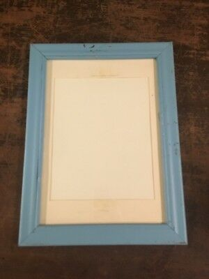 Vintage Antique Quarter Sawn 14 X 12 Oak Picture Frame Holds 12 X 10