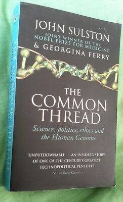 the common thread by john sulston corgi books 2003 paperback