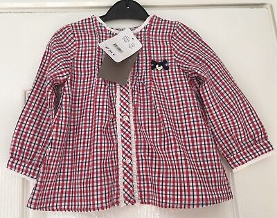 Bnwt Mayoral Girls Blouse Age 18 Months