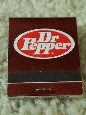 Dr. Pepper matchbook -- new -- unused -- Sardis, Mississippi Coca-Cola Bottling