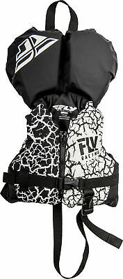 Fly Racing Infant Life Vest Black/White Under 30 lbs