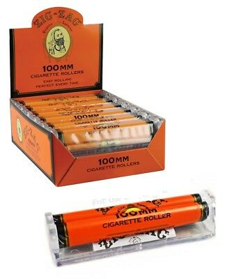 Zig-Zag 100MM Roll Machine - 1 ROLLER - Cigarette Rolling Papers Zig Zag Orange