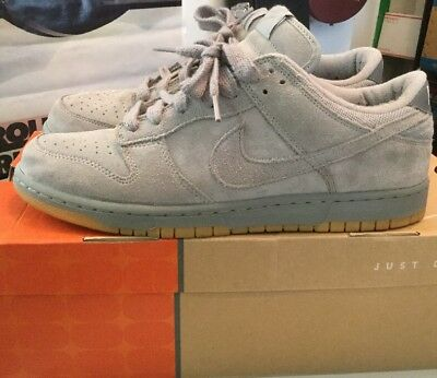 2005 Nike Dunk Low Suede Medium Grey AP Putty Asia Men's Size 11 311293 081 RARE