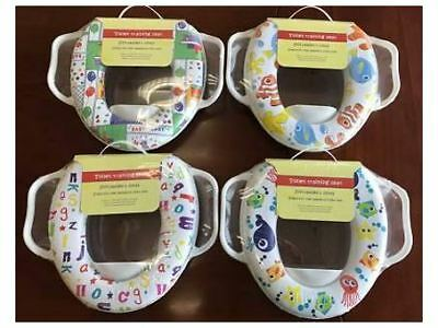 Soft Padded Potty Training Toilet Seat For Babies With Handles