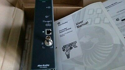 Allen-Bradley 1771-Acn15 Remote I/o Adapter Series B F/w L - With User Manual