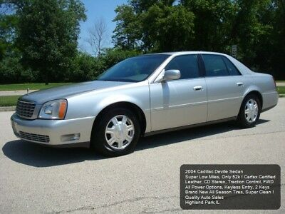 2004 Cadillac DeVille Luxury Sedan 2004 CADILLAC DEVILLE 52K LOW MILES LEATHER NEW TIRES GRANDPAS CAR ! VERY NICE !