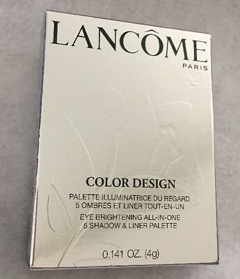 Lancome Color Design 5 Shadow And Liner Palette 109 French Nude