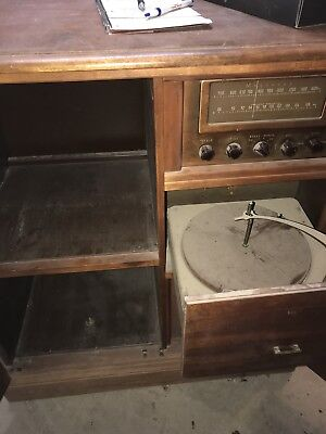 Magnavox Furniture Record Player Vintage