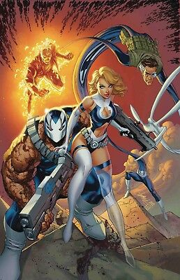 Preorder 7/2018 WEAPON H #6 J SCOTT CAMPBELL RETURN OF FANTASTIC FOUR VARIANT NM