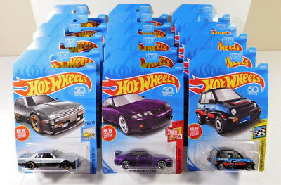 82 Nissan Skyline R30 R33 GT-R 85 Honda City Turbo Jdm Hot Wheels Diecast Lot 15