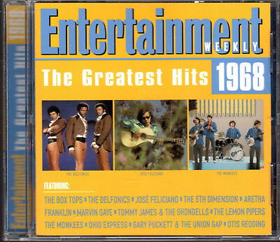 Entertainment Weekly: The Greatest Hits 1968 by Various Artists - CD