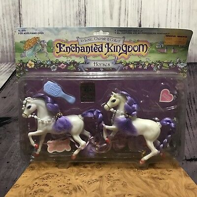 Marchon Enchanted Kingdom Horse Mikado & Top Hat Horses and Brush Only 50101