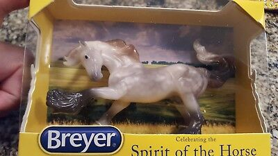 Breyer Stablemates Club Sapporo on the Mini Brishen Gypsy Vanner Mold, NIB MIB
