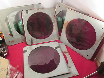 X7 Vintage Gel Frame Holder Stage Theater Lighting 10""