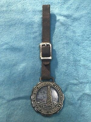 1920's West Virginia Oil And Gas Association Watch Fob