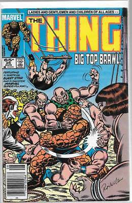 THE THING 26 SIGNED BY RON WILSON FANTASTIC FOUR Vance Astrovik Taskmaster GRIMM