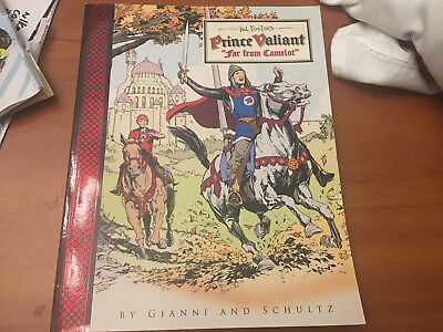 Prince Valiant  Hal Foster Book Far From Camelot Gianni Schultz