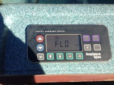 Sundance Topside Spa Controller used in working condition when removed.