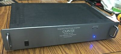 CARVER M-0.5 amp Faceplate, Grey with Handles, Spacers and Hardware