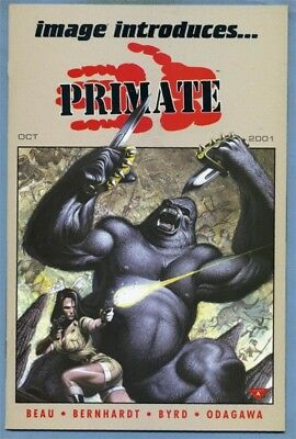 Image Introduces Primate #1 (Sep 2001) Choose One [Garner or Beck Cover] Byrd
