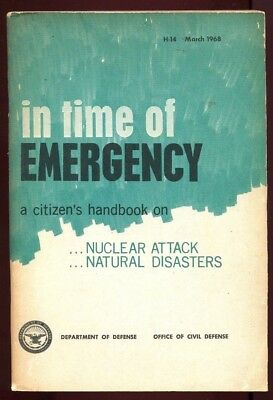 NUCLEAR ATTACK in time of EMERGENCY Office of Civil Defense March 1968 ATOMIC