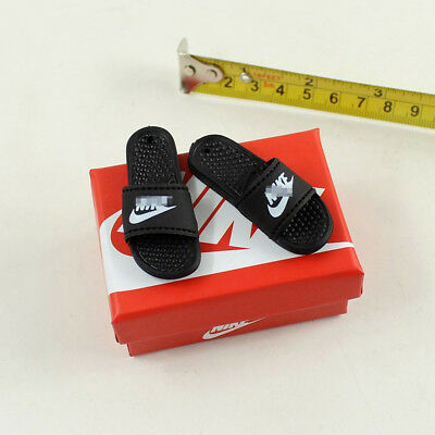 "1/6 Scale Slippers Model with Shoes Box for 12"" Action Figure Body Hot Toys"