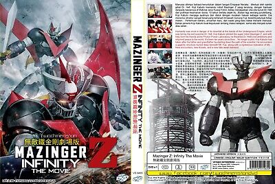 ANIME DVD~Mazinger Z:Infinity-The Movie~Eng sub&All region FREE SHIPPING+GIFT