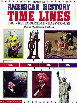 American History Timelines  (ExLib) by Scholastic, Inc. Staff
