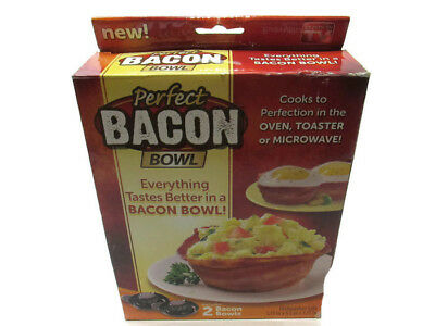 As Seen On TV Perfect Bacon Bowl Bowls 2 / Pack