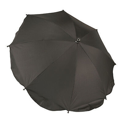 Black -Sun Rain Parasol Umbrella Baby Stroller Wheelchair Pram Pushchair Anti-UV