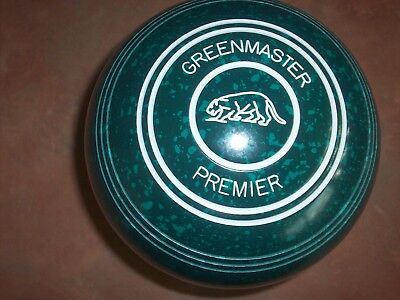 Greenmaster PREMIER Lawn Bowls Size 2H WB19 Plain Gripped BRAND NEW IN BOX