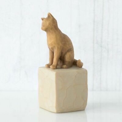 Willow Tree Figurine Love my Cat (Light) Always With Me By Susan Lordi  27689