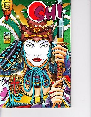 Shi: Way of the Warrior TPB! Tucci FREE SHIPPING AVAILABLE!