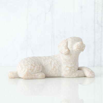 Willow Tree Figurine Love My Dog (Small Lying Down)  By Susan Lordi 27790