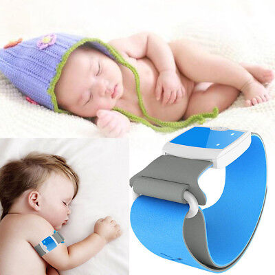 Smart Medical Baby Thermometer Bluetooth 4.0 Wireless 24HR Fever Monitoring Care