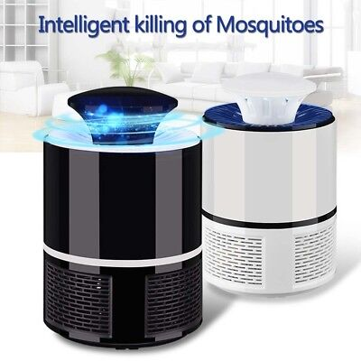 Electric Fly Bug Zapper Mosquito Insect Killer LED Light Trap Lamp Pest