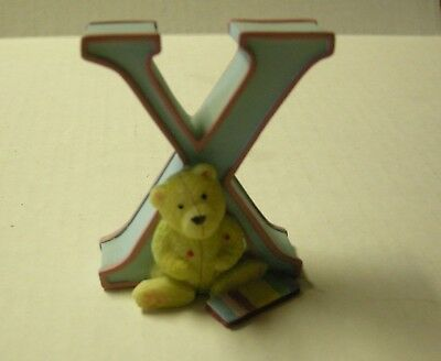 "Child to Cherish 3"" Pastel Letter ""X"", New"