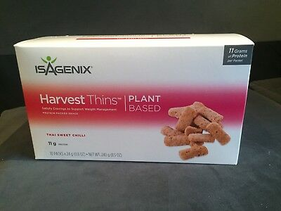 Isagenix Harvest Thins Thai Sweet Chili