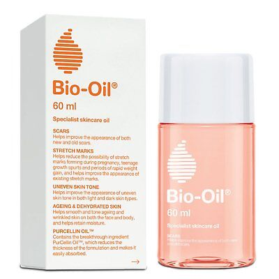 5 x Bio oil 60ml For Strech Marks,Scars,Uneven Skin, Ageing & Dehydrated Skin