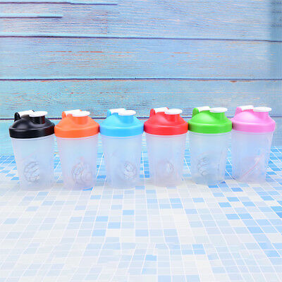 protein shaker blender mixer bottle sports fitness gym  400ML bpa bottle MC