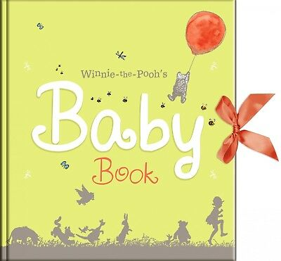 Disney Winnie the Pooh Baby Record Book unisex baby shower maternity gift gifts