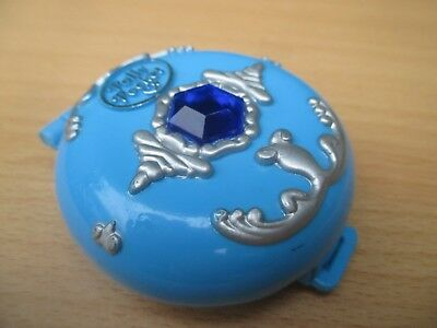 POLLY POCKET mini - Jeweled Sea Diamant Dose - BLUEBIRD 1992 + FIGUR