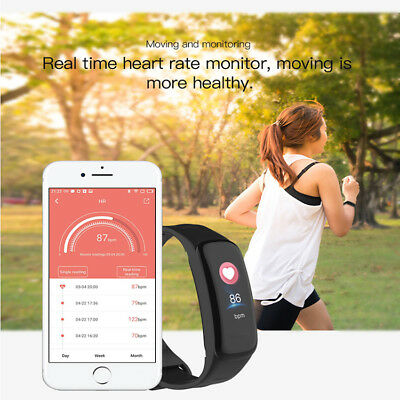 Bluetooth SMART FITBIT watch Heart Rate & Blood Pressure Monitor Fitness Tracker