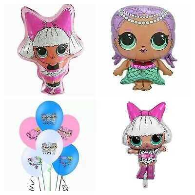 Xl Diva Lol Surprise Doll Foil Balloon Supershape Helium Quality.