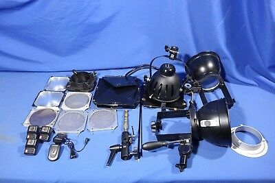 LOT of Assorted Camera Lighting Accessories #L4260BP AS-IS