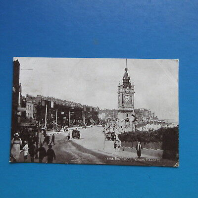 Old Postcard of The Clock Tower, Margate.